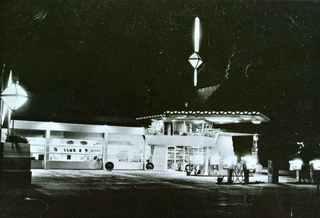 ライトのガソリンスタンド