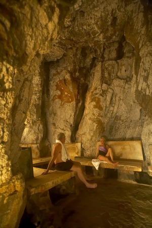 ヤンパ洞窟蒸し湯